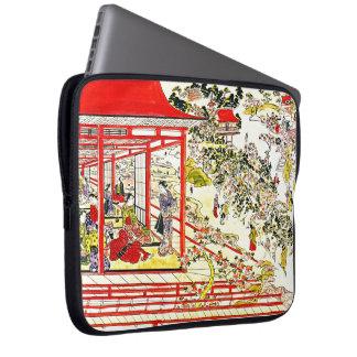 Ueno Park Cherry Blossoms 1725 Laptop Sleeve