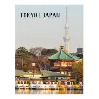 Ueno Park in Tokyo, Japan Postcard