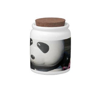 Ueno Zoo Panda Sign Candy Dish