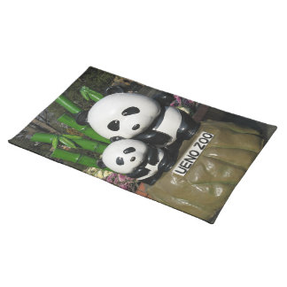 Ueno Zoo Panda Sign Place Mats
