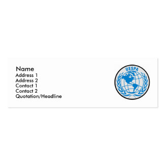 UESPA Profile Card Business Card