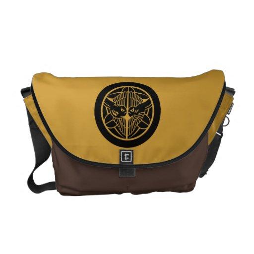 Uesugi1 (bolso del kamon) bolsa de mensajería