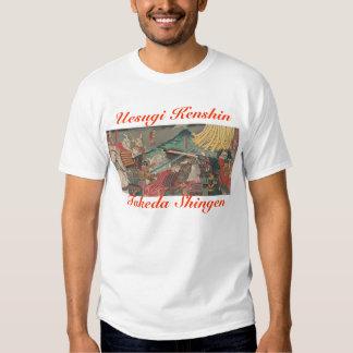 Uesugi Kenshin Takeda Shingen Shirt