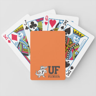 UF Albert With Hat Bicycle Playing Cards