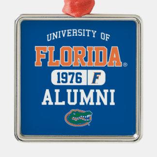 UF Alumni Logo Metal Ornament