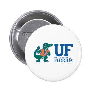 UF Blue with Albert 2 Inch Round Button