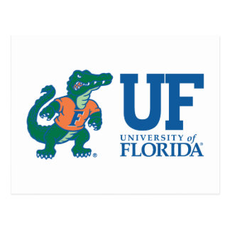 UF Blue with Albert Postcard