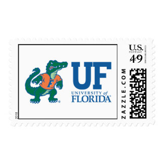 UF Blue with Albert Stamps