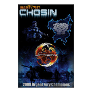 UF Chosin Uprising Wall Size Poster