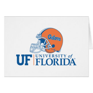 UF Florida Gators Helmet | Left Card