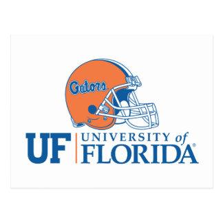 UF Florida Gators Helmet | Right Postcard