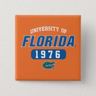 UF Gator Retro Logo Class Year Pinback Button