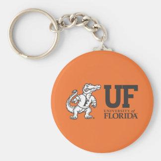 UF Mascot Albert Basic Round Button Keychain