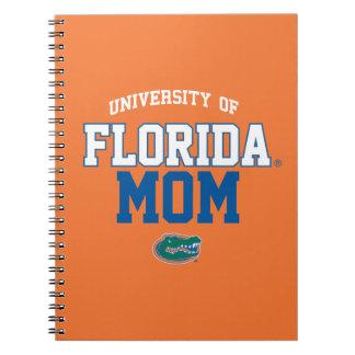 UF Orange and Blue Gator Family Notebook