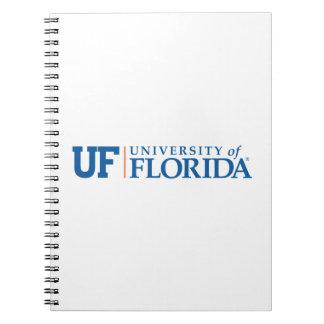 UF - Universidad de la Florida Libro De Apuntes Con Espiral