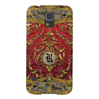 Ufaycicle Baroque Damask Monogram Case For Galaxy S5