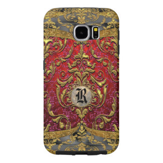 Ufaycicle Baroque Damask Monogram Samsung Galaxy S6 Cases