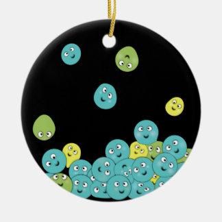 Uff che palline ceramic ornament