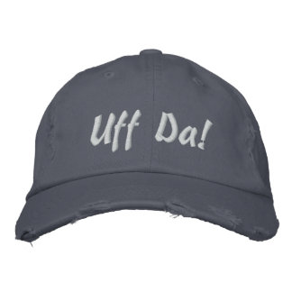 Uff Da Embroidered Baseball Caps