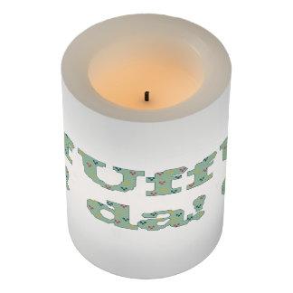 Uff da! flameless candle