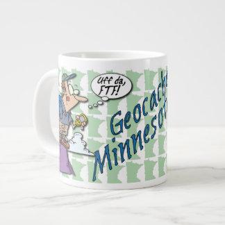 Uff da! Geocache Minnesota Ceramic Jumbo Mug