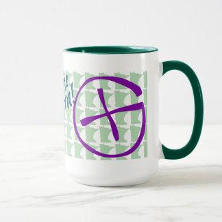 Uff da! Geocache Minnesota Ringer Mug