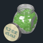 "Uff da! jelly belly candy jar<br><div class=""desc"">This is a virtual stitch image of my original Uff da! cross stitch pattern. If you would like to stitch it yourself,  there is info in my profile on where to find the pattern.</div>"
