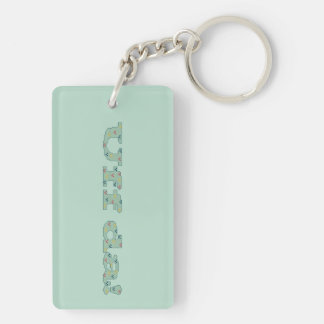 Uff da! Keychain