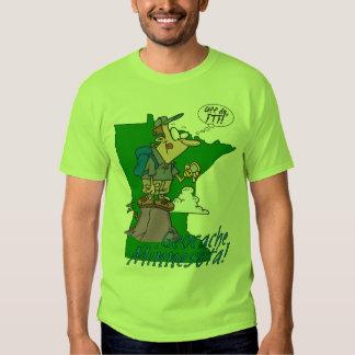 Uff da! Minnesota Cacher Basic T-Shirt