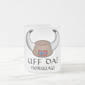 ¡Uff DA! Noruega Taza