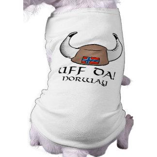 Uff Da! Norway Doggie T-shirt