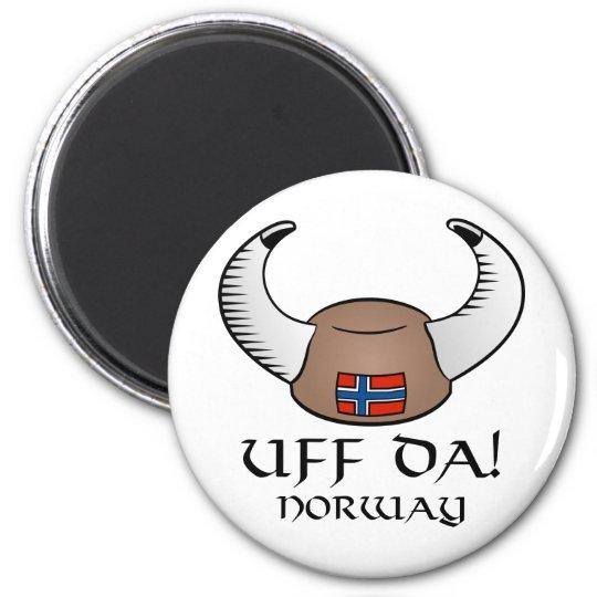 Uff Da! Norway Magnet