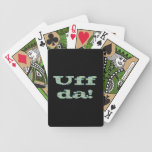 Uff da! Playing Cards