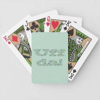 Uff da! Playing Cards