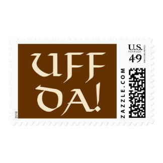 Uff Da! Postage Stamp