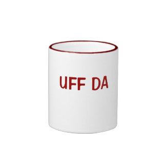 UFF DA RINGER MUG