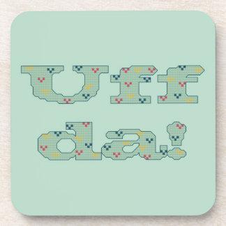 Uff da! Set of Coasters