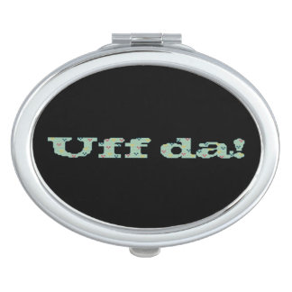 Uff da! vanity mirror