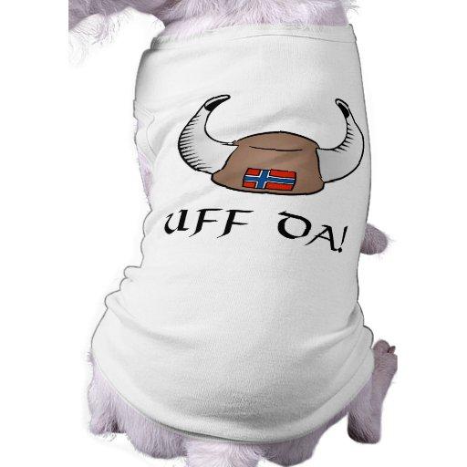 Uff Da! Viking Hat Dog Clothing