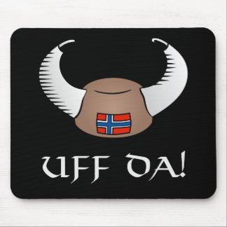 Uff Da! Viking Hat Mouse Pad
