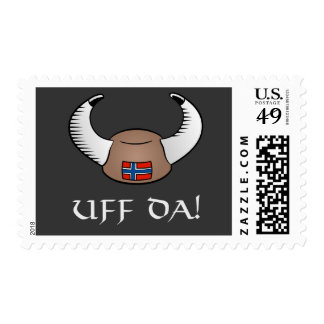 Uff Da! Viking Hat Stamp
