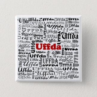 Uffda Square Pin