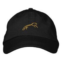 Uffington horse embroidered baseball hat