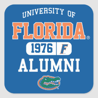 UFL Blue and Orange Alumni Logo Stickers