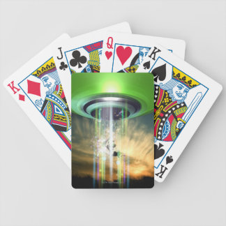 UFO 2 BICYCLE POKER CARDS