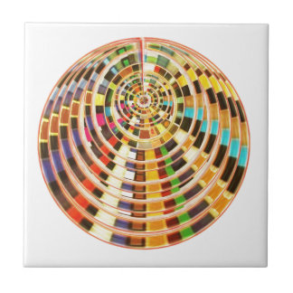 UFO 3D Energy Dome - Wave Spectrum Ceramic Tile