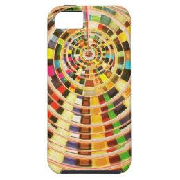 UFO 3D Energy Dome - Wave Spectrum iPhone SE/5/5s Case