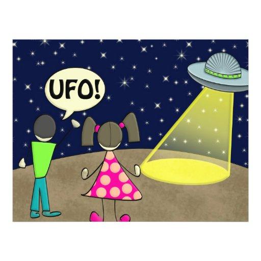"""ufo 8.5"""" x 11"""" flyer"""