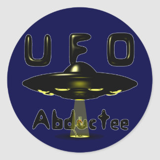UFO Abductee Sticker