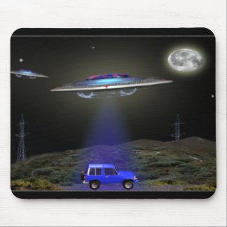 ufo abduction mousepad